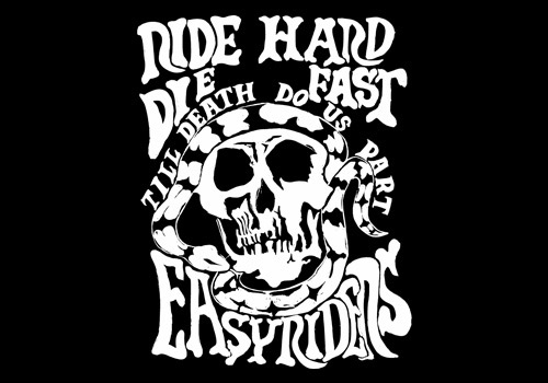 【EASYRIDERS】ER original T恤【ERS41】 RIDE HARD - 「Webike-摩托百貨」