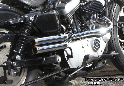 【EASYRIDERS】Shot Pipe 全段排氣管 (電鍍) - 「Webike-摩托百貨」