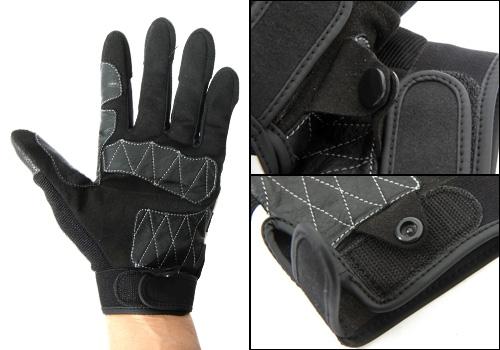 【BREDGE】技師手套【SKULL】 - 「Webike-摩托百貨」