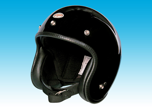 【EASYRIDERS】70s 小型安全帽 黑色 - 「Webike-摩托百貨」