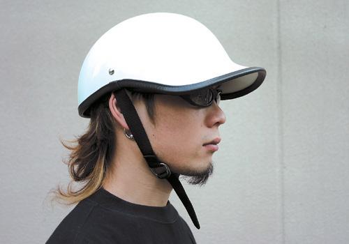 【EASYRIDERS】Gangster安全帽 白色 無貼紙 - 「Webike-摩托百貨」