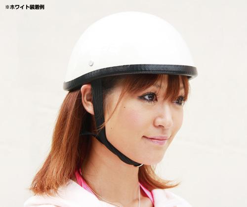 【EASYRIDERS】Bud  Bone 小型安全帽 白色 無貼紙 - 「Webike-摩托百貨」