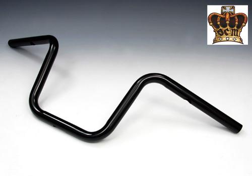 【EASYRIDERS】Mini SCOOP 把手 (黑色 無配線用凹痕/配線孔加工完成) - 「Webike-摩托百貨」
