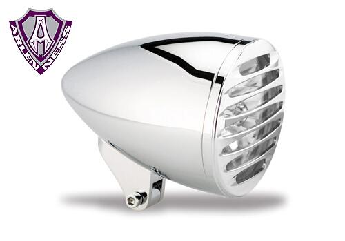 【EASYRIDERS】5-3/4吋 Brett stretch 頭燈 (含Deep Cut 頭燈護罩) - 「Webike-摩托百貨」
