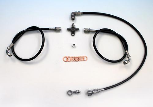 【EASYRIDERS】不鏽鋼前金屬煞車油管套件 - 「Webike-摩托百貨」
