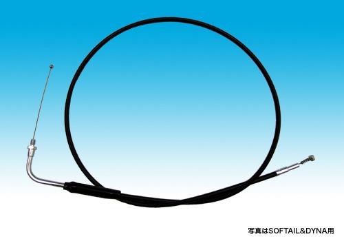 【EASYRIDERS】怠速拉索 (黒色/9吋 over) - 「Webike-摩托百貨」