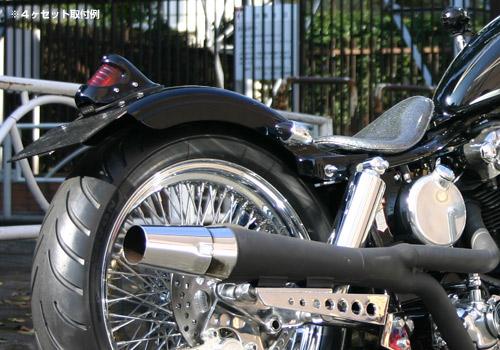 【EASYRIDERS】短版Chopper方向燈 【無燈眉】 - 「Webike-摩托百貨」