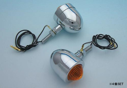 【EASYRIDERS】小型方向燈 電鍍型式 - 「Webike-摩托百貨」