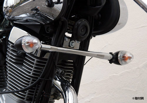 【EASYRIDERS】Chopper 方向燈 黑色【無支架/4個一組】 - 「Webike-摩托百貨」