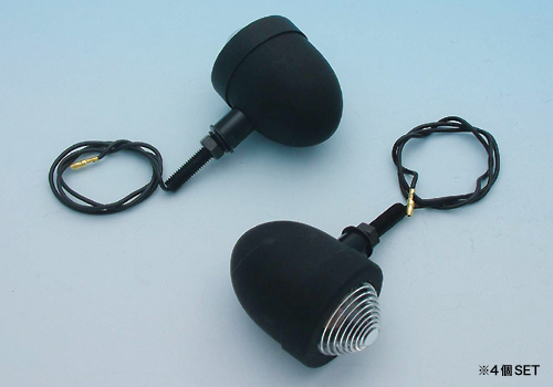 【EASYRIDERS】小型方向燈 黑色型式 - 「Webike-摩托百貨」
