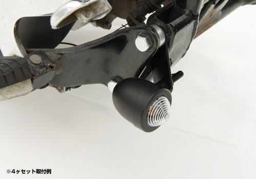 【EASYRIDERS】小型方向燈 黑色【Rose1個】 - 「Webike-摩托百貨」