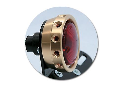 【EASYRIDERS】鑽孔型尾燈 (黃銅外蓋) - 「Webike-摩托百貨」