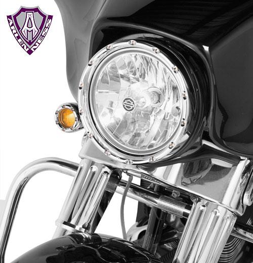 【EASYRIDERS】7英吋Fire ring 頭燈 - 「Webike-摩托百貨」