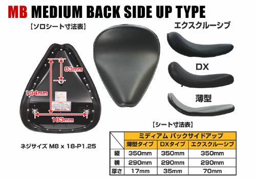 【EASYRIDERS】MB 單座坐墊( 薄型 素面 棕色) - 「Webike-摩托百貨」