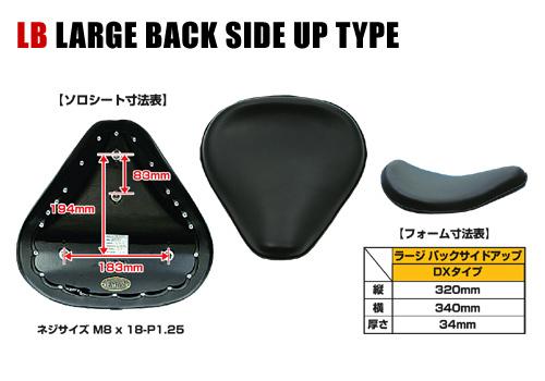 【EASYRIDERS】LB 單座坐墊 (DX 素面 黒色) - 「Webike-摩托百貨」