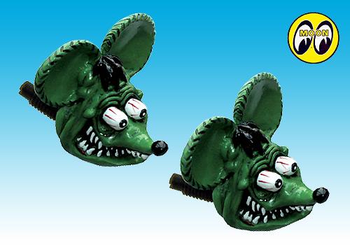 【EASYRIDERS】Rat Fink 牌照螺絲 - 「Webike-摩托百貨」