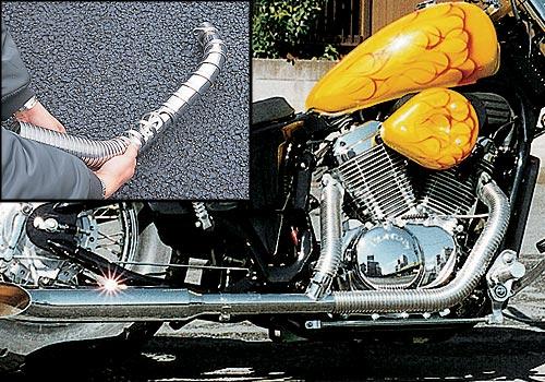 【EASYRIDERS】Flexible 排氣管防燙套 (短) - 「Webike-摩托百貨」