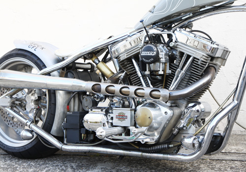 【EASYRIDERS】Drilled 排氣管防燙蓋 (長) - 「Webike-摩托百貨」