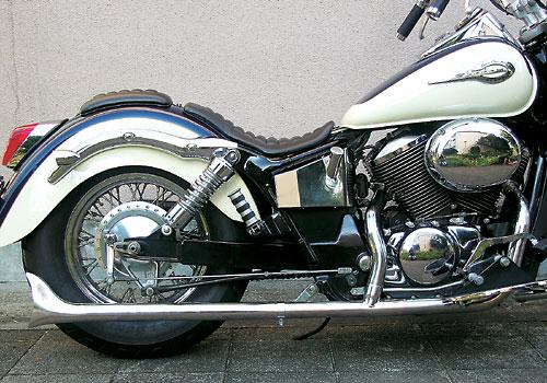 【EASYRIDERS】FLH Style 2in1 Straight Fish Tail 全段排氣管 - 「Webike-摩托百貨」