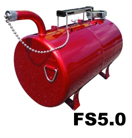 Gasoline Carring Can Red Camel