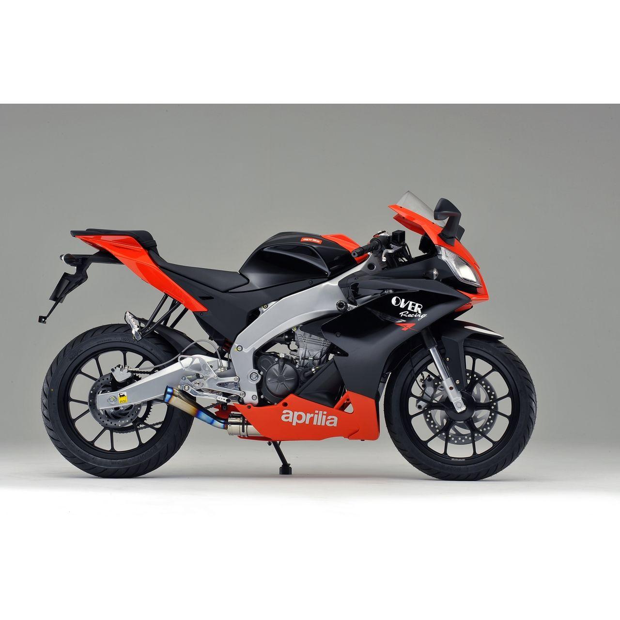 【OVER】Racing 全段排氣管 鈦合金尾蓋 - 「Webike-摩托百貨」