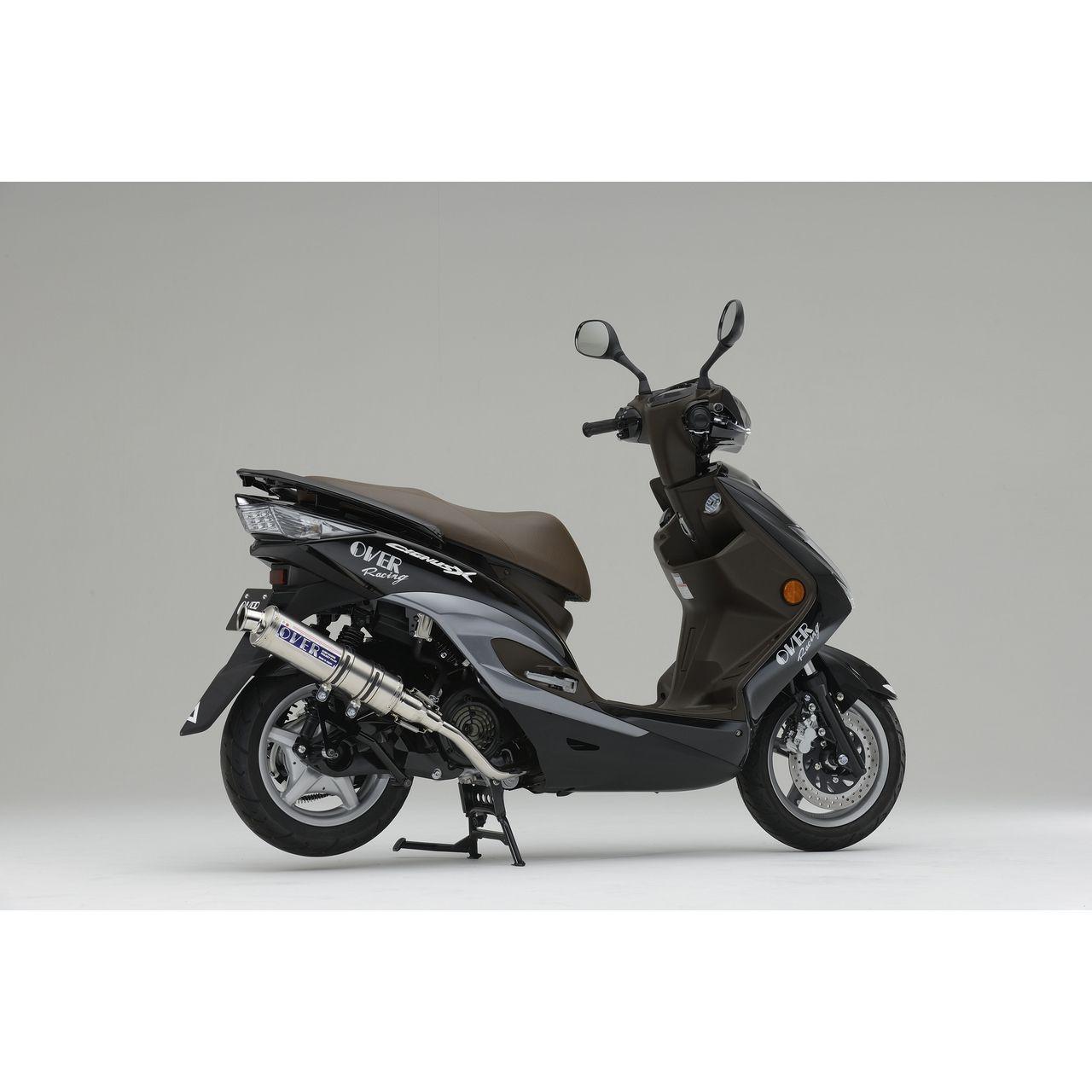 【OVER】不鏽鋼鈦合金全段排氣管 - 「Webike-摩托百貨」