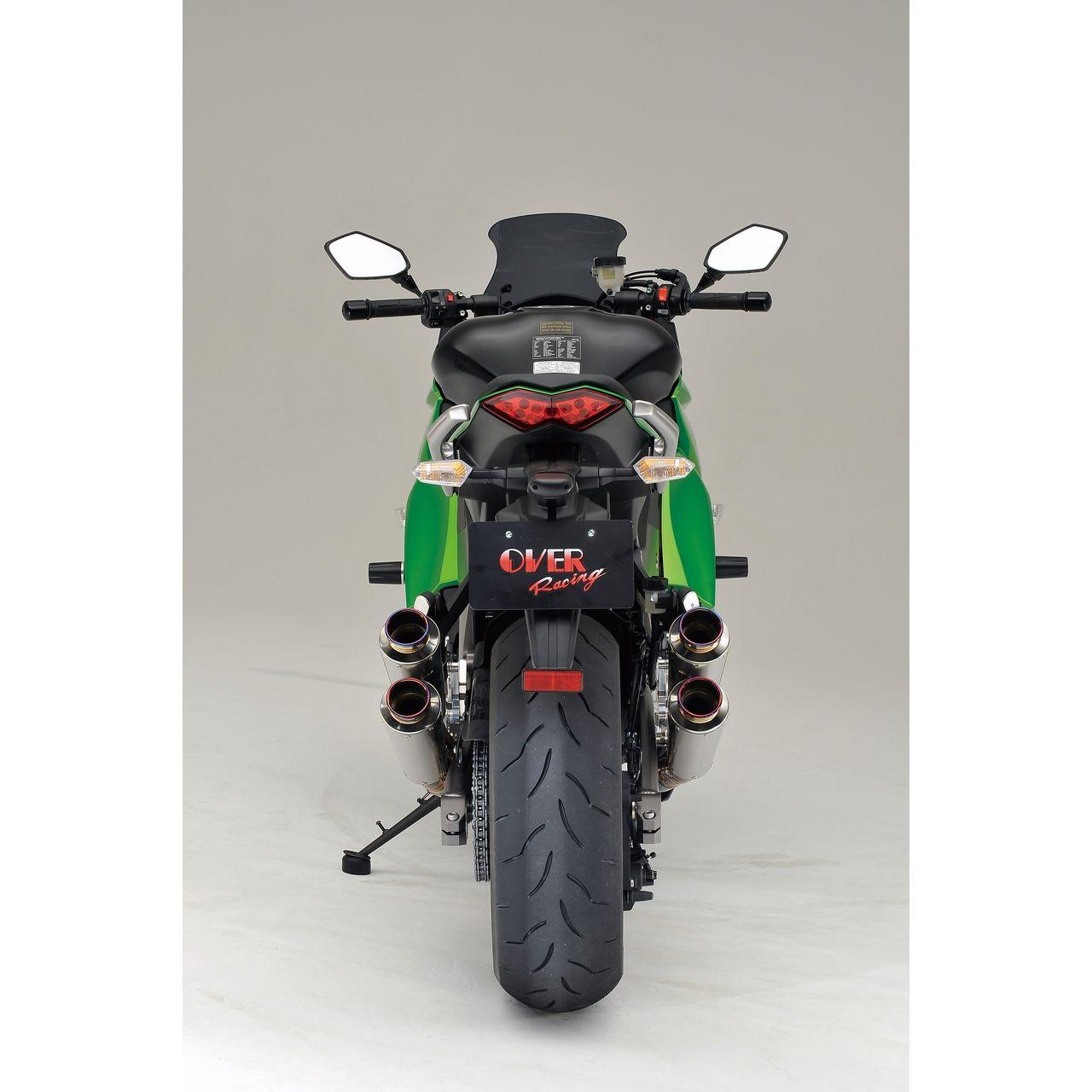 【OVER】GP-PERFORMANCE RS 全鈦合金 排氣管 - 「Webike-摩托百貨」