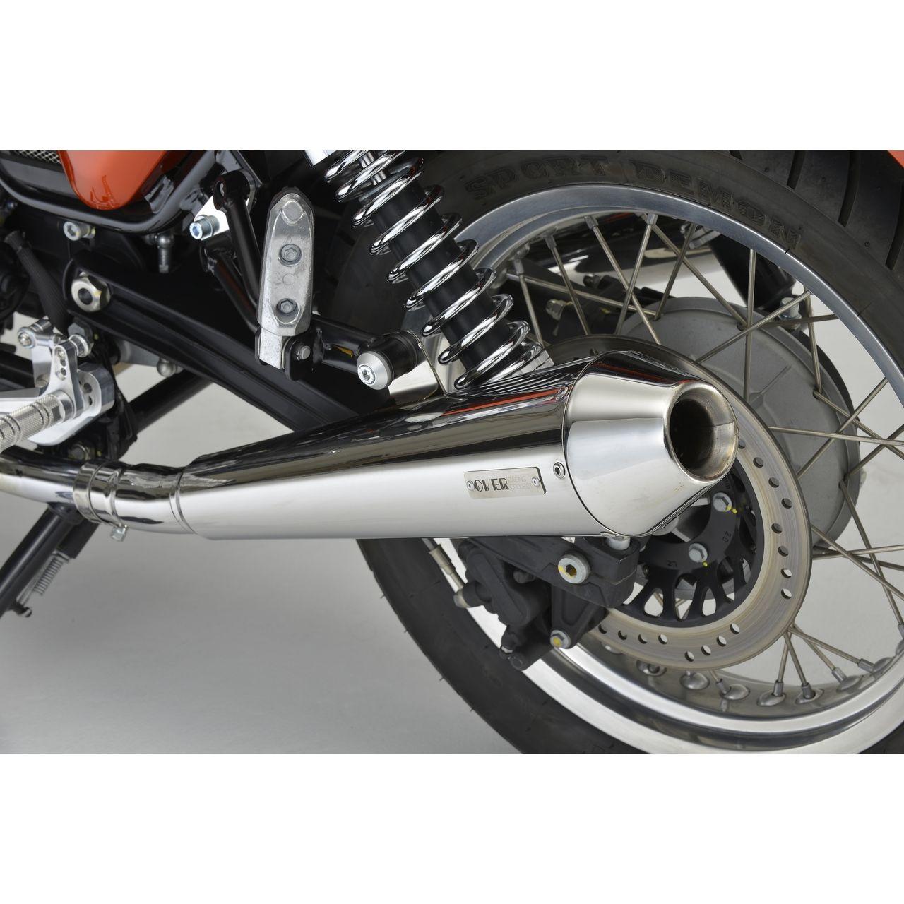 【OVER】SS Megaphone 排氣管尾段 - 「Webike-摩托百貨」