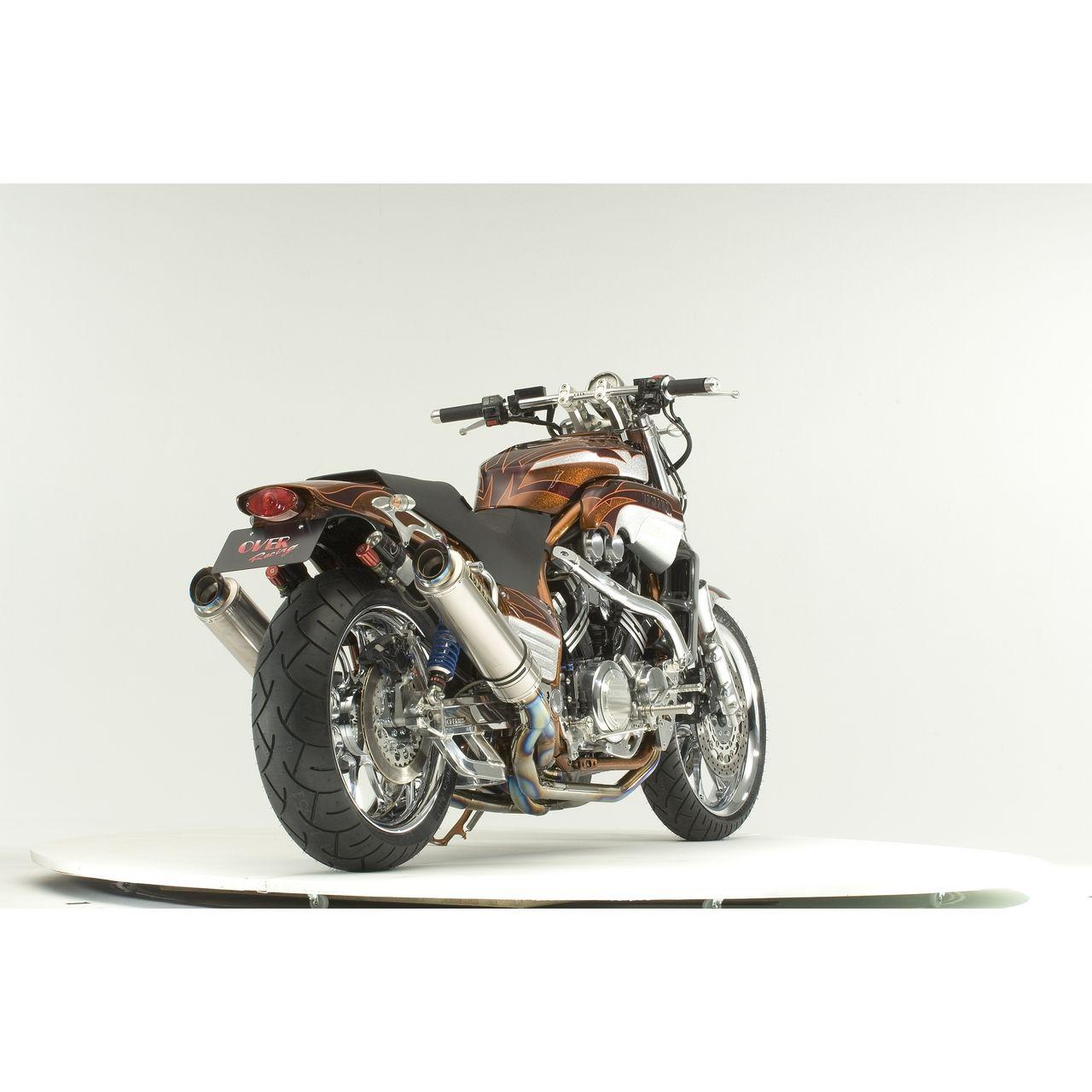 【OVER】GP PERFORMANCE  鈦合金雙出全段排氣管 - 「Webike-摩托百貨」