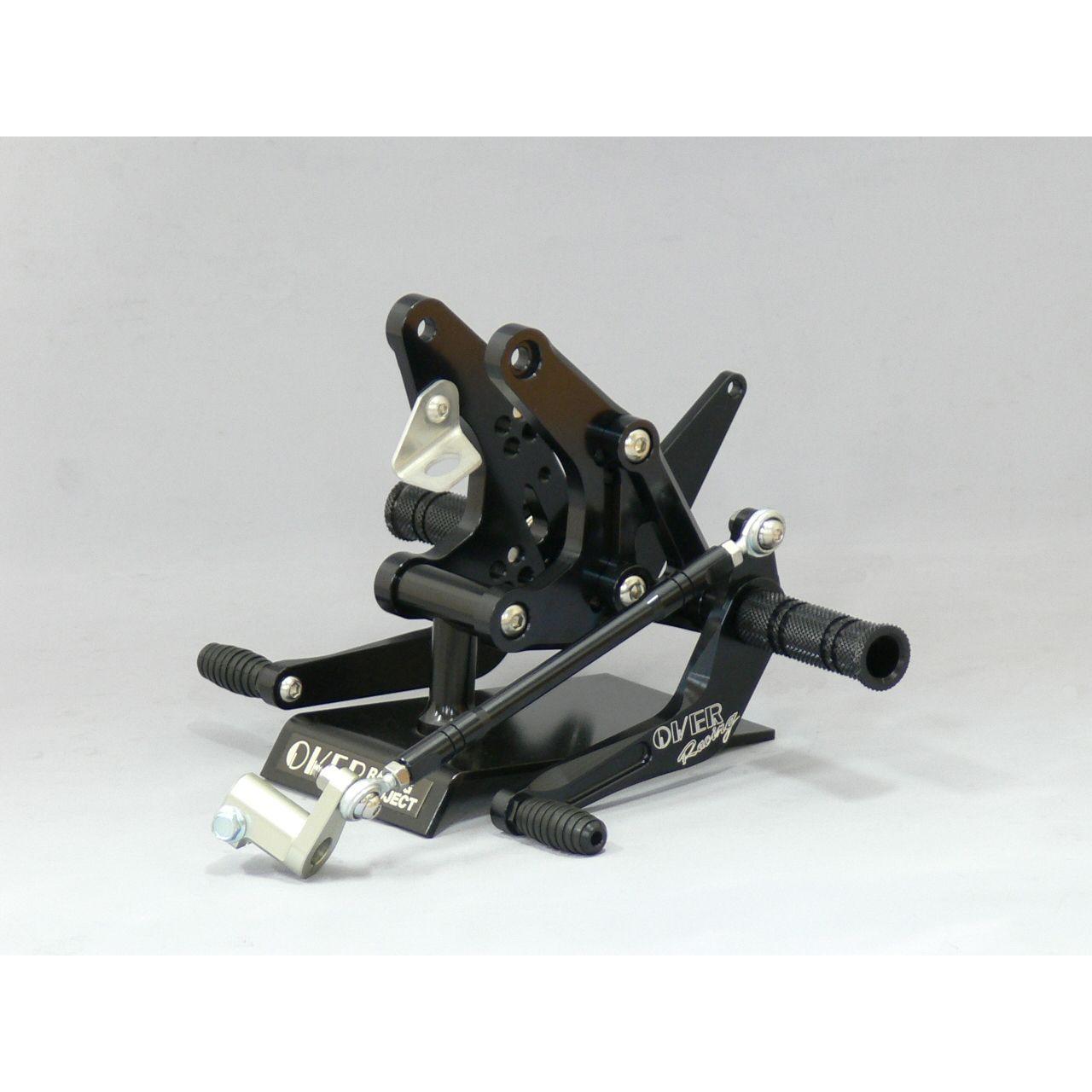 【OVER】腳踏後移套件競賽型(鼓式煞車專用) - 「Webike-摩托百貨」