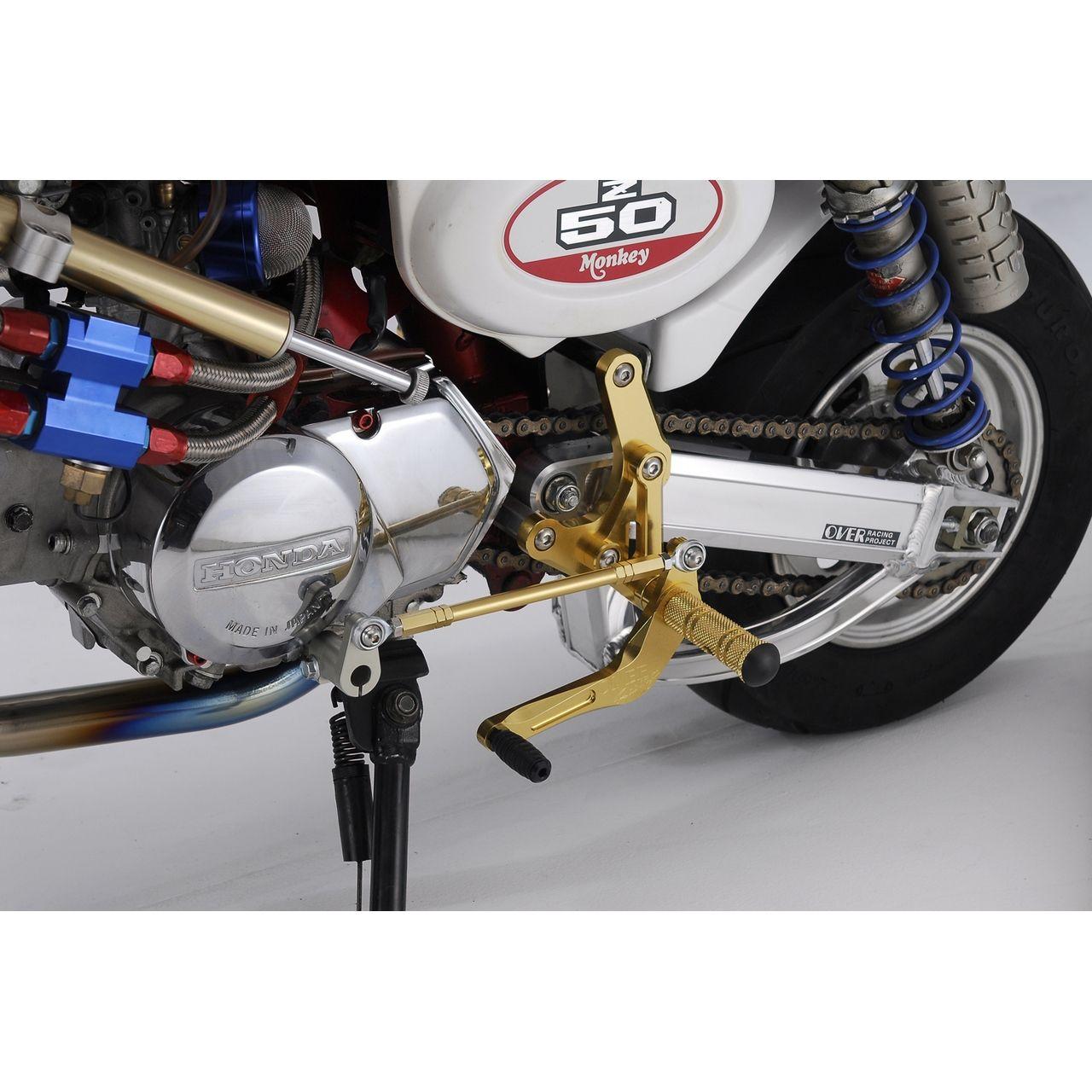 【OVER】腳踏後移套件競賽型 (後碟煞型式) - 「Webike-摩托百貨」