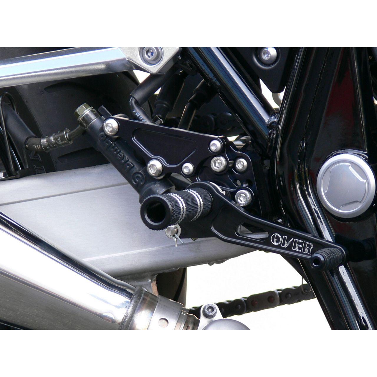 【OVER】4點安裝位置腳踏後移套件 - 「Webike-摩托百貨」
