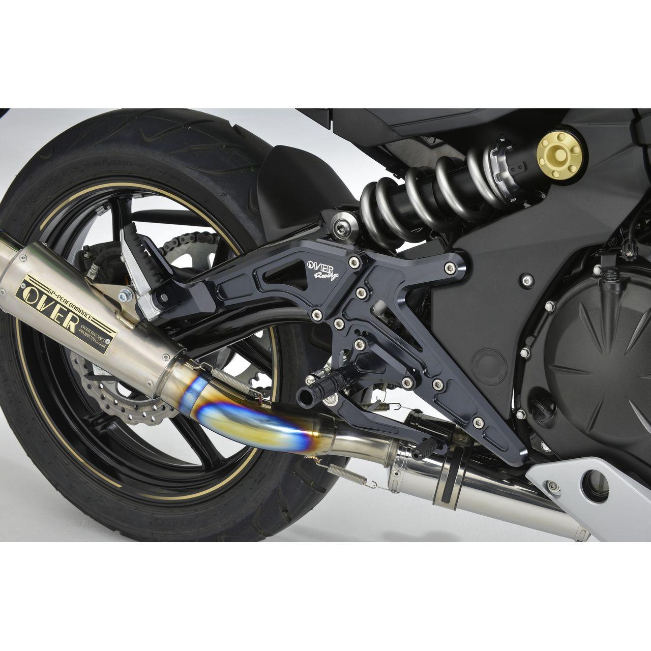 【OVER】4段調整型踏後移套件 - 「Webike-摩托百貨」