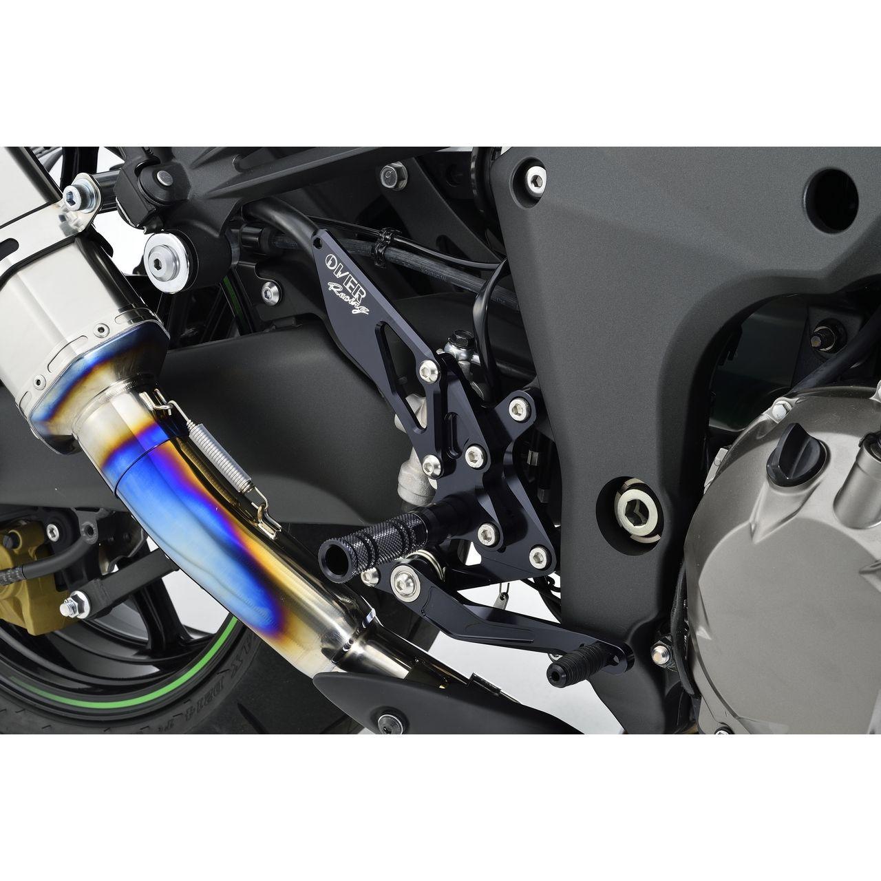 【OVER】腳踏後移套件4點安裝位置 - 「Webike-摩托百貨」