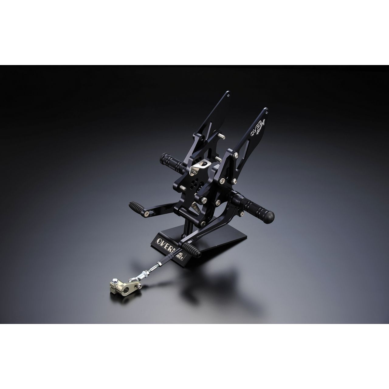 【OVER】腳踏後移套件 4點安裝位置 - 「Webike-摩托百貨」
