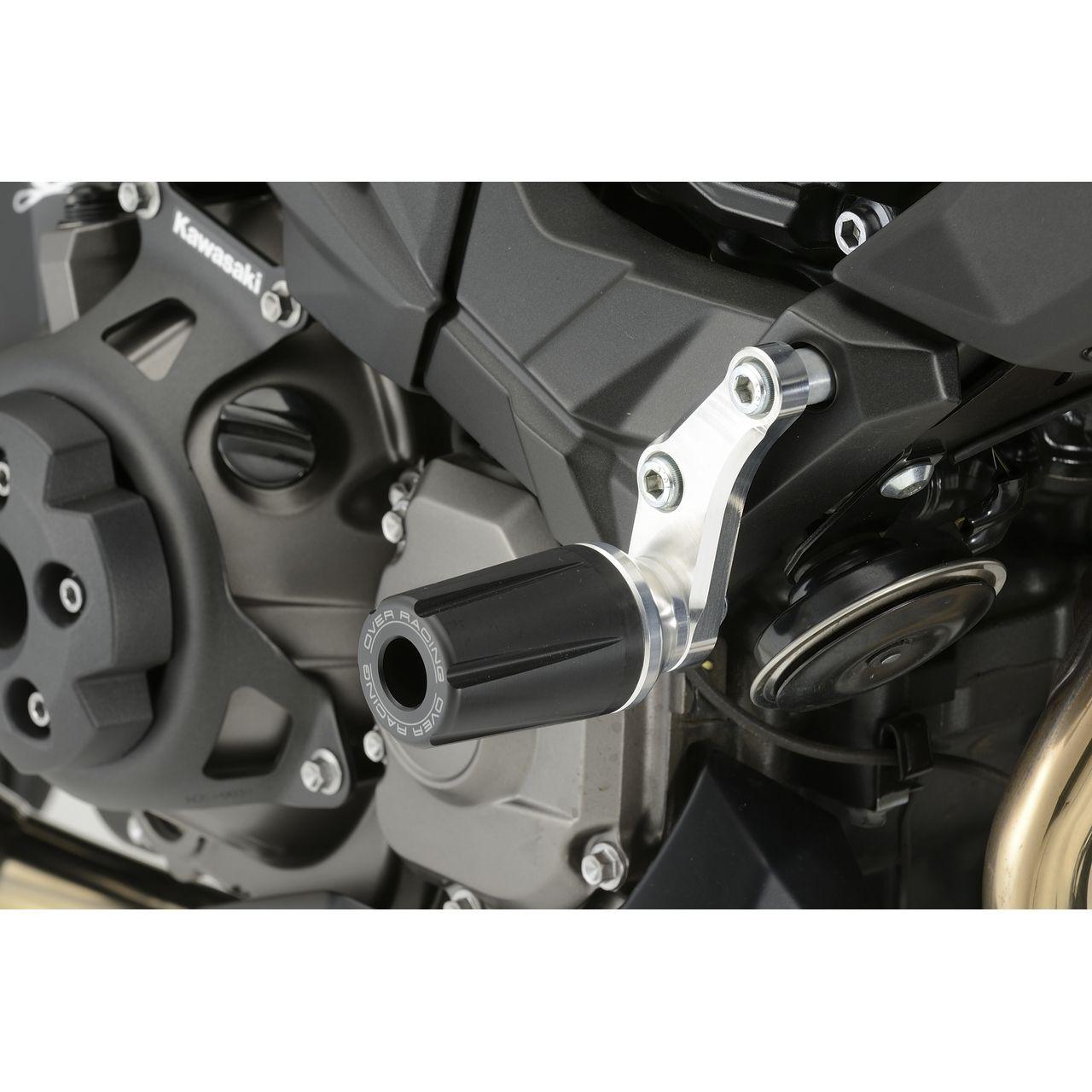 【OVER】引擎滑塊(防倒球) - 「Webike-摩托百貨」
