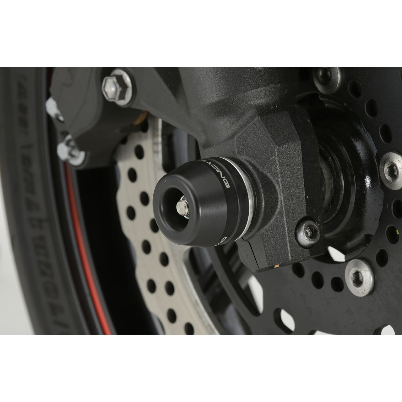 【OVER】前輪軸滑塊(防倒球) - 「Webike-摩托百貨」