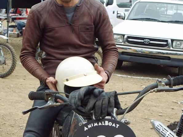 【KADOYA】HF-DEER/Flat truck racer 皮革外套(Single) - 「Webike-摩托百貨」