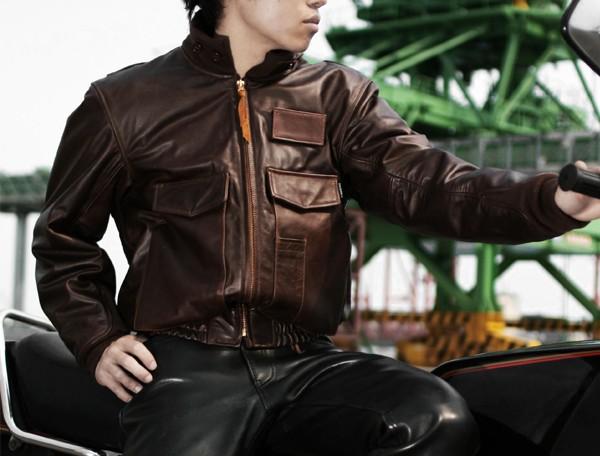 【KADOYA】G-8R 皮革外套(Single) - 「Webike-摩托百貨」