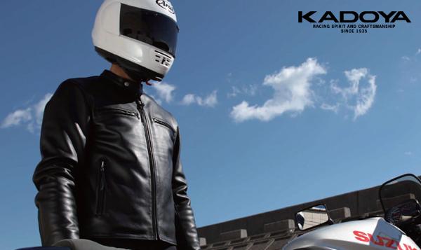 【KADOYA】DSR  皮革外套(Single) - 「Webike-摩托百貨」