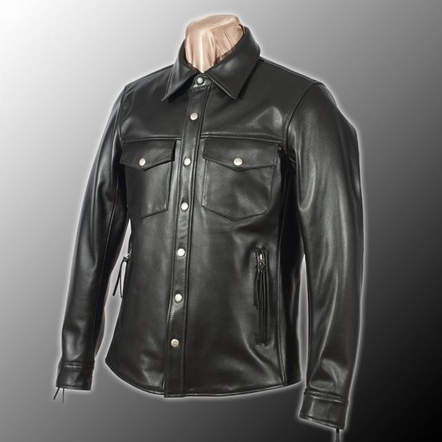 【KADOYA】LSJ 皮革襯衫 - 「Webike-摩托百貨」