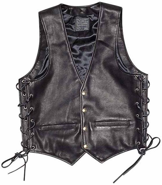 ZA-VEST [K'S LEATHER] Leather Vest