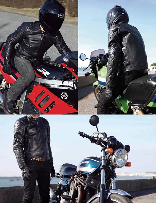 【KADOYA】KZ-PTD  皮革外套 (Single riders/Pateddo) K'S LEATHER - 「Webike-摩托百貨」