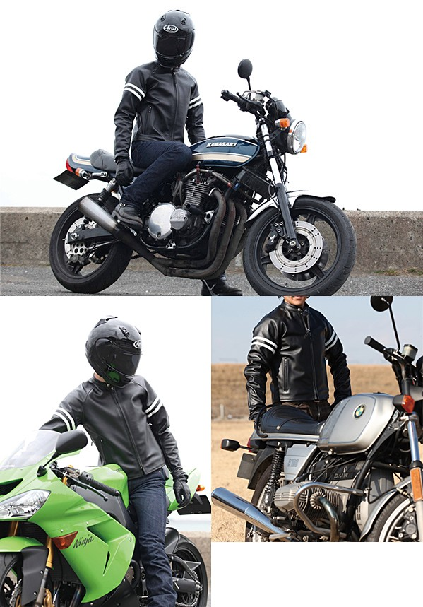 【KADOYA】RSV-JAC  皮革外套 (Single riders/Raglan) K'S LEATHER - 「Webike-摩托百貨」