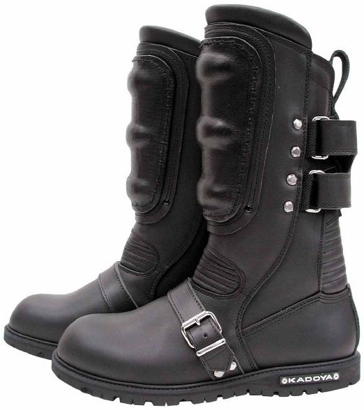 【KADOYA】BLACK SHIELD 車靴 - 「Webike-摩托百貨」