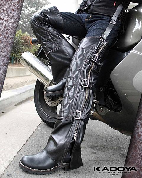 【KADOYA】RIDEWADER-EVO 皮革褲 - 「Webike-摩托百貨」