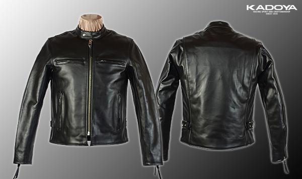 【KADOYA】KS LEATHER FPS-1皮革外套 - 「Webike-摩托百貨」