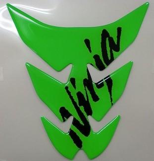 【KAWASAKI】Kawasaki油箱貼紙Lime 綠色N - 「Webike-摩托百貨」