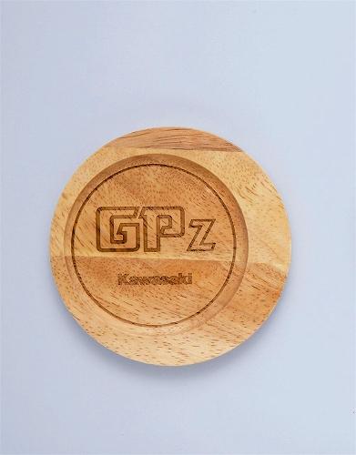 【KAWASAKI】Kawasaki 引擎外蓋杯墊GPz - 「Webike-摩托百貨」
