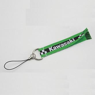 【KAWASAKI】Kawasaki 圍巾型手機吊繩手機吊繩 - 「Webike-摩托百貨」